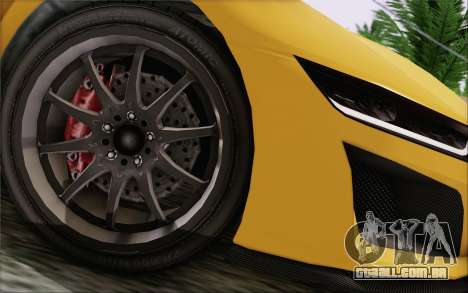 GTA V Dinka Jester IVF para GTA San Andreas vista direita