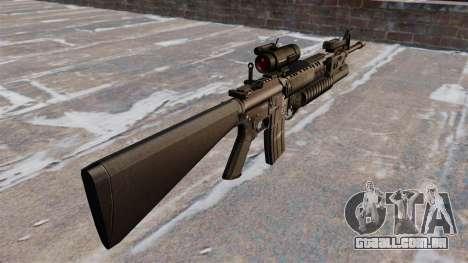 Tática rifle M16A4 para GTA 4 segundo screenshot