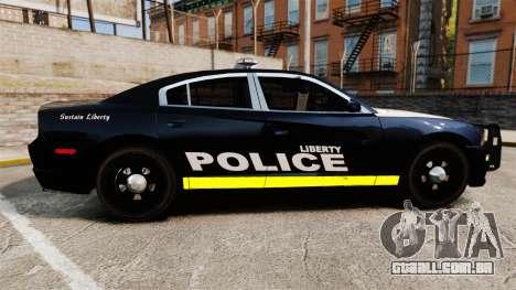 Dodge Charger 2013 LCPD [ELS] para GTA 4 esquerda vista