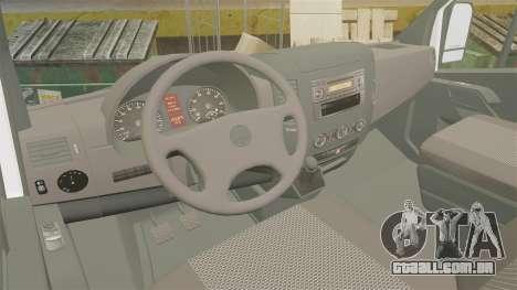Mercedes-Benz Sprinter TF1 News [ELS] para GTA 4 vista de volta