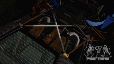 Pagani Huayra para as rodas de GTA San Andreas