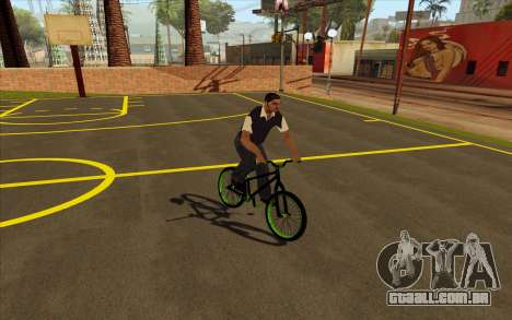 Street MTB bike para GTA San Andreas traseira esquerda vista