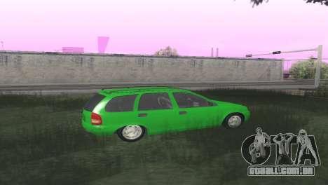 Chevrolet Corsa Wagon para GTA San Andreas vista direita