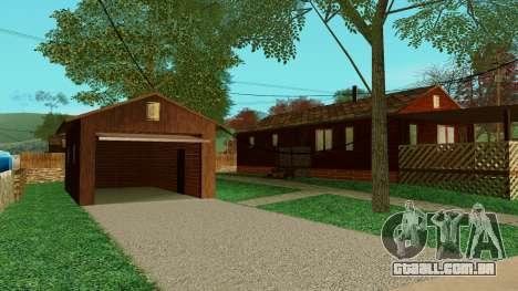 Uma casa na aldeia para GTA San Andreas segunda tela