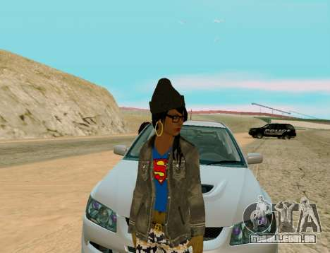 Girl Swagg para GTA San Andreas segunda tela