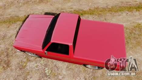 Rancher Lowride para GTA 4 vista direita
