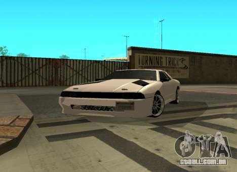 Elegy By Eweest v0.1 para GTA San Andreas esquerda vista