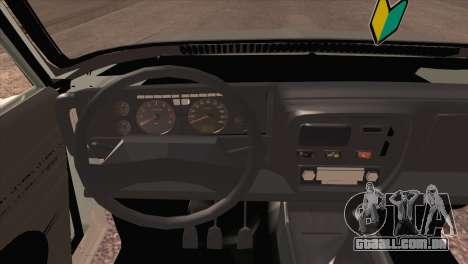 Peykan 80 Blackroof para GTA San Andreas vista traseira