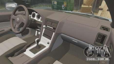 Nissan Skyline ER34 GT25 para GTA 4 vista lateral