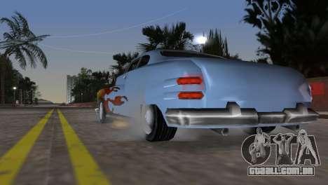Hermes GTA VCS para GTA Vice City vista traseira esquerda