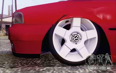 Volkswagen Parati SPS Club para GTA San Andreas traseira esquerda vista