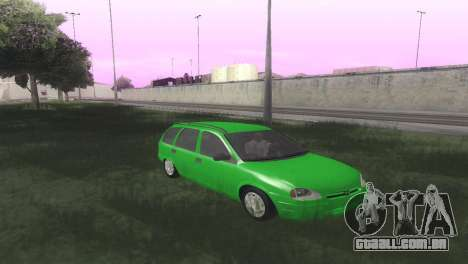 Chevrolet Corsa Wagon para GTA San Andreas vista traseira