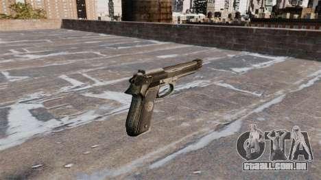 Auto-carregamento de pistola Beretta 92FS para GTA 4 segundo screenshot