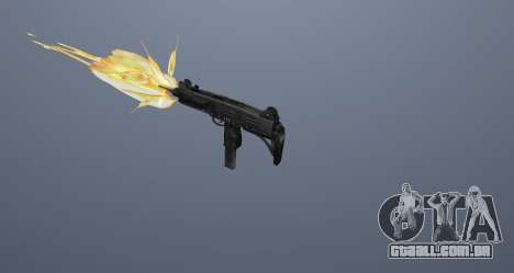 A metralhadora UZI para GTA San Andreas décima primeira imagem de tela