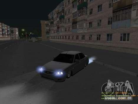 VAZ 2170 para GTA San Andreas esquerda vista