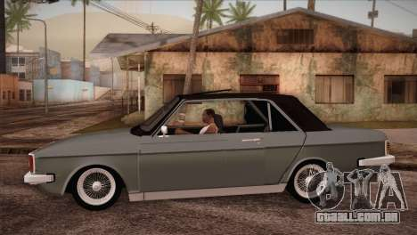 Peykan 80 Blackroof para GTA San Andreas esquerda vista