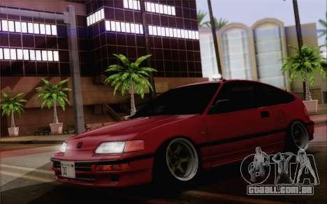 Honda CRX Low Gang para GTA San Andreas