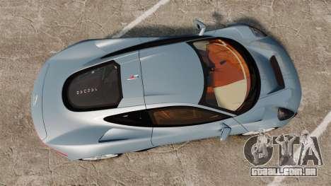Jaguar C-X75 2014 [EPM] para GTA 4 vista direita