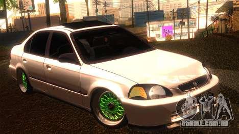 Honda Civic JDM para GTA San Andreas