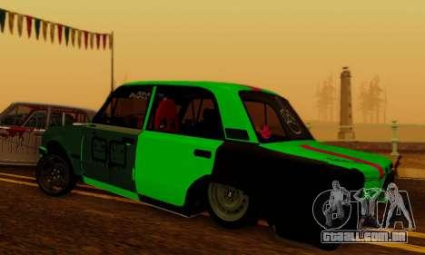 BMWAZ para GTA San Andreas esquerda vista