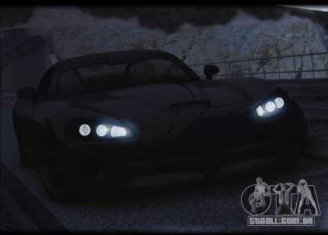 Dodge Viper SRT-10 para GTA San Andreas vista superior
