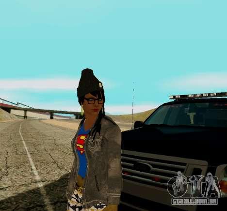 Girl Swagg para GTA San Andreas terceira tela