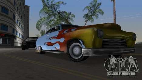 Hermes GTA VCS para GTA Vice City vista traseira