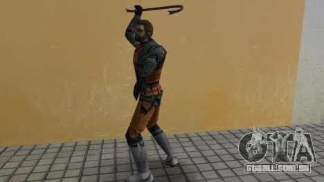 Gordon Freeman para GTA Vice City por diante tela