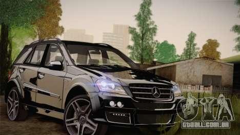 Mercedes-Benz ML63 para GTA San Andreas