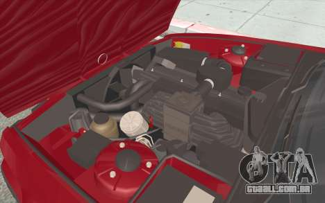 BMW M5 E34 1991 NA-spec para GTA San Andreas vista inferior