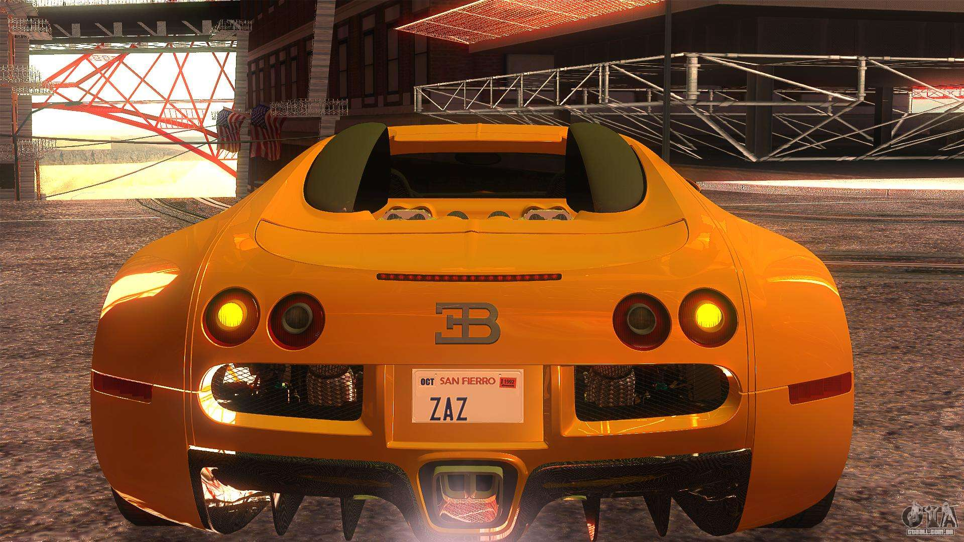 bugatti veyron 2009 para gta san andreas. Black Bedroom Furniture Sets. Home Design Ideas