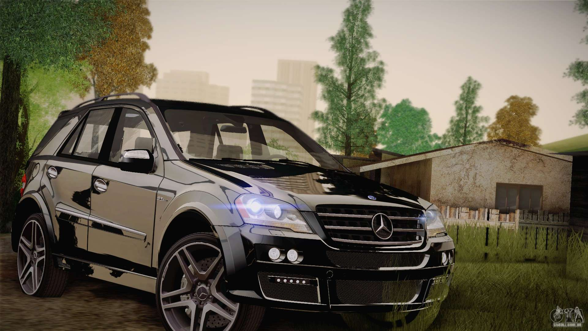 Mercedes Benz Ml63 Para Gta San Andreas