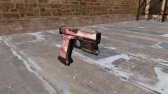 Pistola Glock De 20 De Interior Vermelho para GTA 4