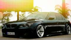 BMW M5 E60 Vossen para GTA San Andreas