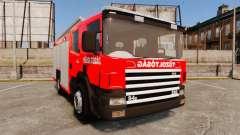 Húngaro caminhão de bombeiros [ELS]