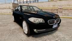 BMW M5 F10 2012 Unmarked Police [ELS] para GTA 4