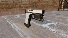 Pistola Glock De 20 Chrome para GTA 4
