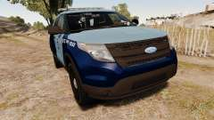Ford Explorer 2013 MSP [ELS] para GTA 4