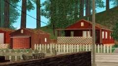 Uma casa na aldeia para GTA San Andreas