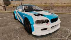 BMW M3 GTR 2012 Most Wanted v1.1 para GTA 4