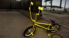 New BMX Yellow para GTA San Andreas