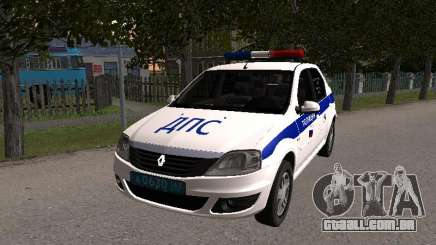 Renault Logan ДПС para GTA San Andreas