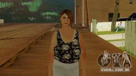 Uma mulher idosa v.2 para GTA San Andreas