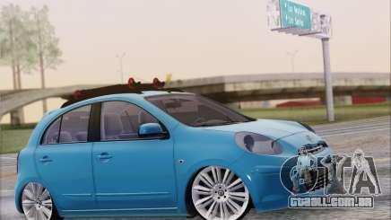 Nissan March para GTA San Andreas