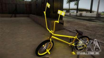 New BMX Yellow para GTA San Andreas