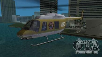 Helicóptero da polícia do GTA VCS para GTA Vice City