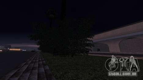 Novas texturas Estação ferroviária em Las Ventur para GTA San Andreas quinto tela