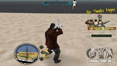Vagos HUD para GTA San Andreas terceira tela