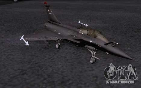 Dassault Rafale M para GTA San Andreas interior
