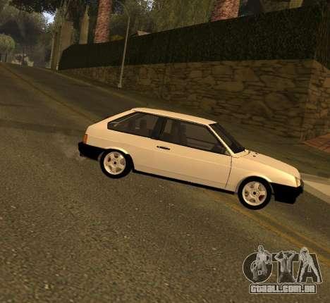 ВАЗ 2108 GVR Versão 2.0 para GTA San Andreas